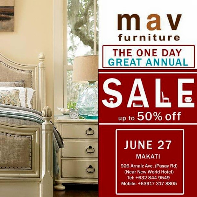 MAV Furniture ONE DAY GREAT SALE