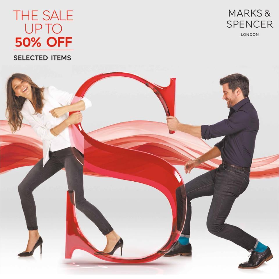 Marks & Spencer Sale June - August 2015
