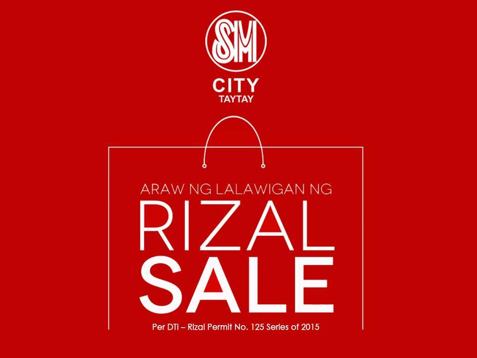 SM City Taytay Araw Ng Lalawigan ng Rizal Sale June 2015