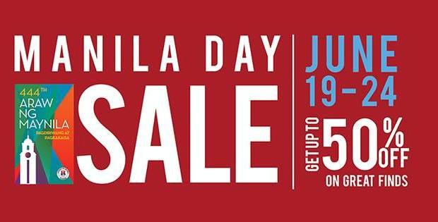 SM Manila Day Sale 2015 Postger