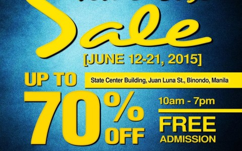Sebago, Hush Puppies, Cushe Mid-Year Warehouse Sale @ State Center Investment Building June 2015
