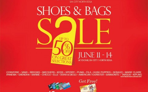 Shoes & Bags Sale @ Skydome SM City North Edsa June 2015