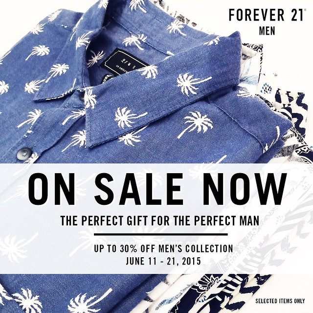 forever 21 men sale june 2015 poster