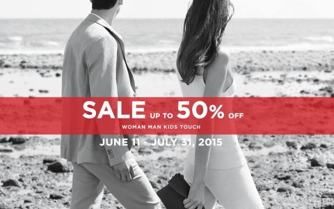 mango end of season sale june-july 2015 poster
