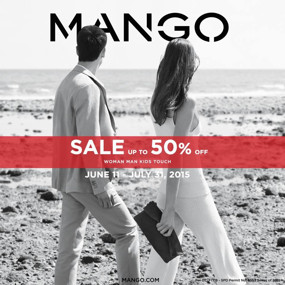 mango end of season sale june-july 2015 poster