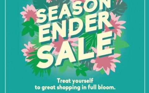 shangri-la plaza mall end of season sale june-july 2015-poster