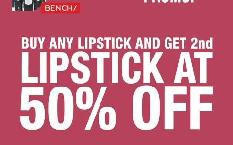 Bench National Lipstick Day Sale July 2015