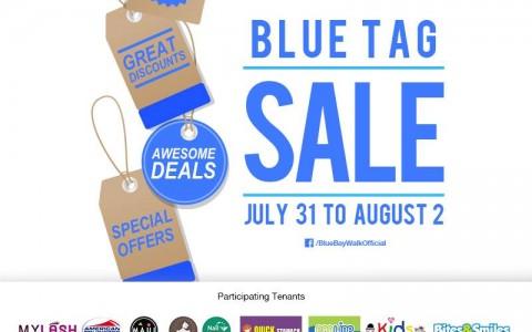 Blue Bay Walk Blue Tag Sale July - August 2015