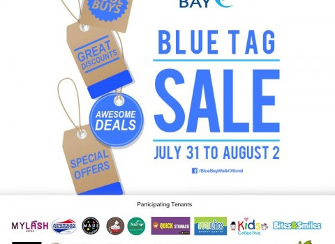 Blue Bay Walk Blue Tag Sale July - August 2015