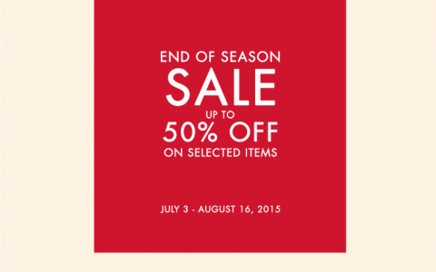 G2000 End of Season Sale July - August 2015
