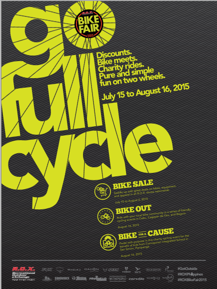 R.O.X. Bike Sale July - August 2015