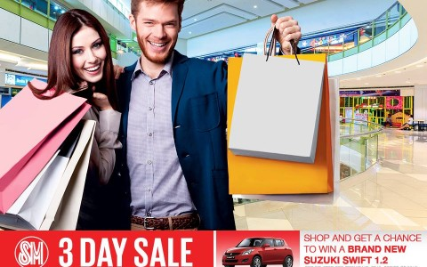 SM City Masinag 3-Day Sale July - August 2015