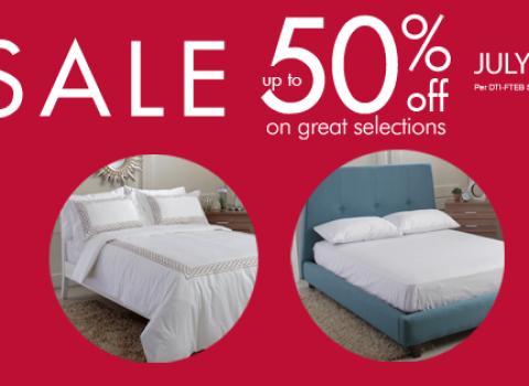 SM Home Bedroom Sale July - August 2015