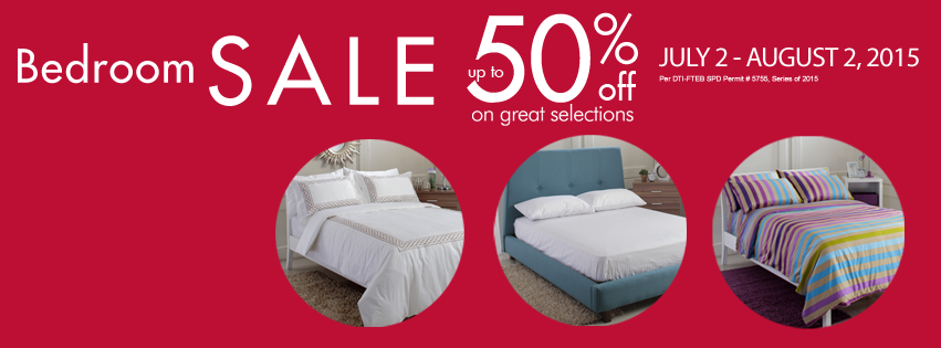 SM Home Bedroom Sale: July 2 U2013 August 2, 2015