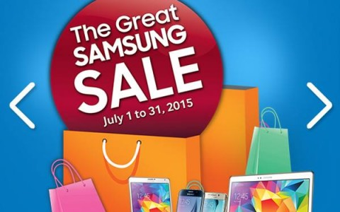 The Great Samsung Sale July 2015