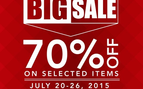 giordano mid-year big sale glorietta july 2015-poster