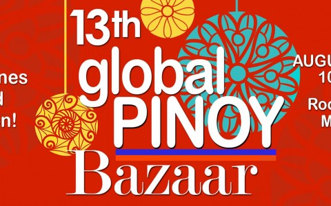 13th Global Pinoy Bazaar @ Rockwell Tent August 2015