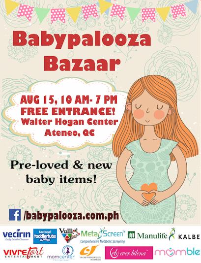 Babypalooza Bazaar @ Ateneo De Manila University August 2015