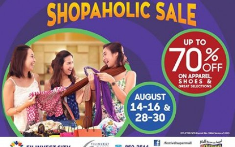 Festival Supermall All Out Shopaholic Sale August 2015