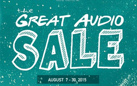 Pismo Digital Lifestyle The Great Audio Sale August 2015