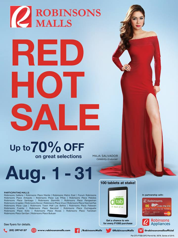 Robinsons-Sale-August-2015-poster