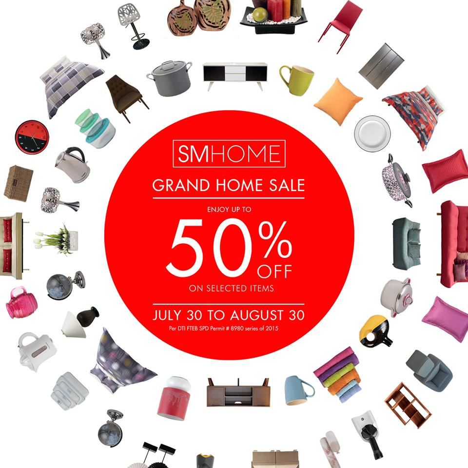 SM Home Grand Home Sale August 2015