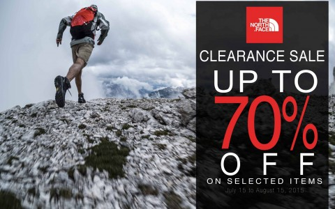 The North Face Clearance Sale July - August 2015