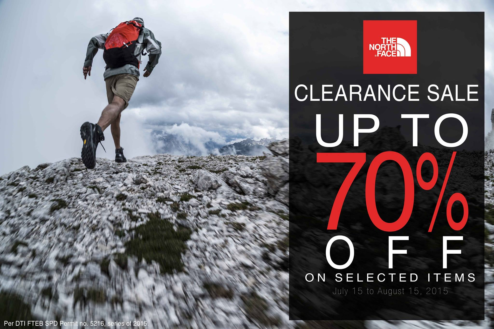da63dad19 The North Face Clearance Sale July - August 2015 | Manila On Sale