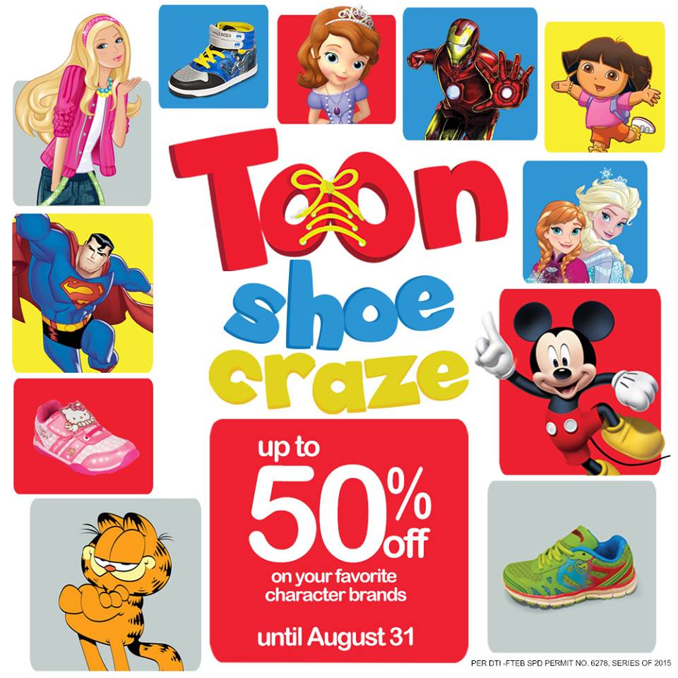 The SM Store Toon Shoe Craze August 2015