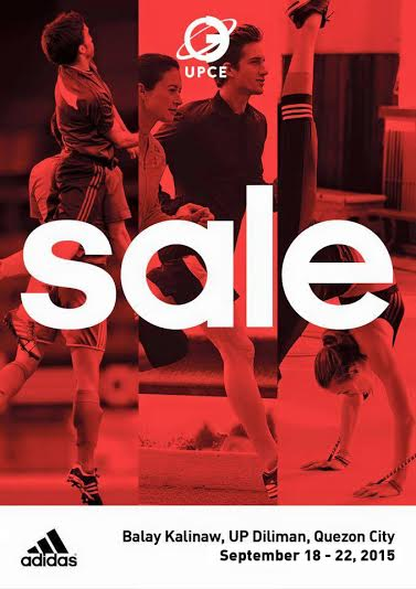 Adidas Brand Sale @ UP Balay Kalinaw September 2015