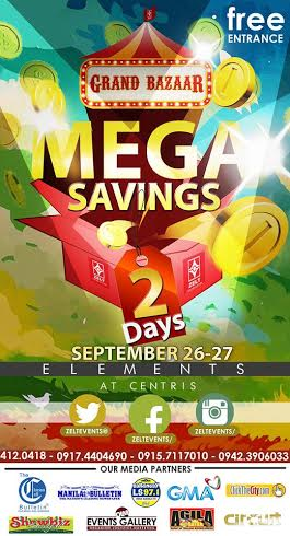 Grand Bazaar @ Elements, Eton Centris September 2015
