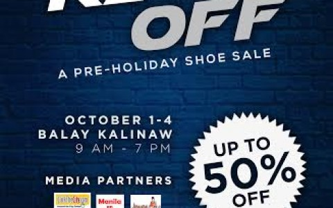 Kick Off Pre-Holiday Shoe Sale @ UP Balay Kalinaw October 2015