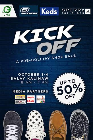 Kick Off Pre-Holiday Shoe Sale @ UP Balay Kalinaw October 2015