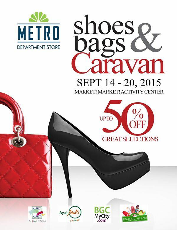 Metro Department Store Shoes & Bags Caravan @ Market Market Activity Center September 2015