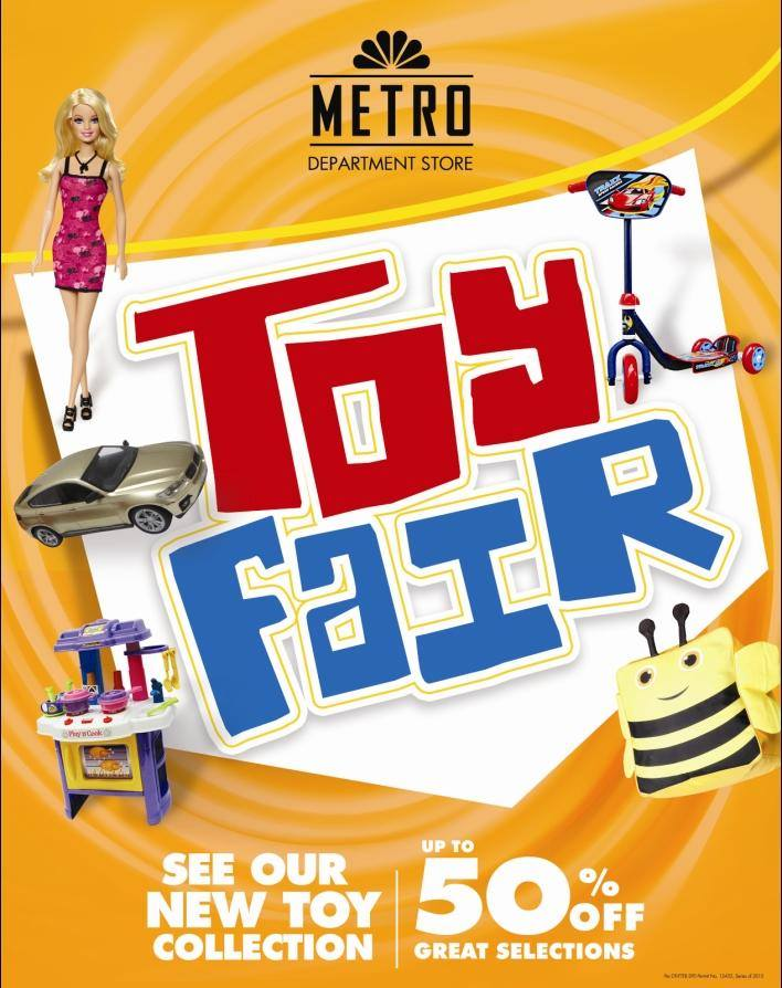Metro Department Store Toy Fair @ Alabang Town Center September 2015