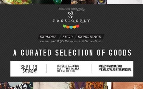 Passionfly Bazaar @ Dusit Thani Manila September 2015