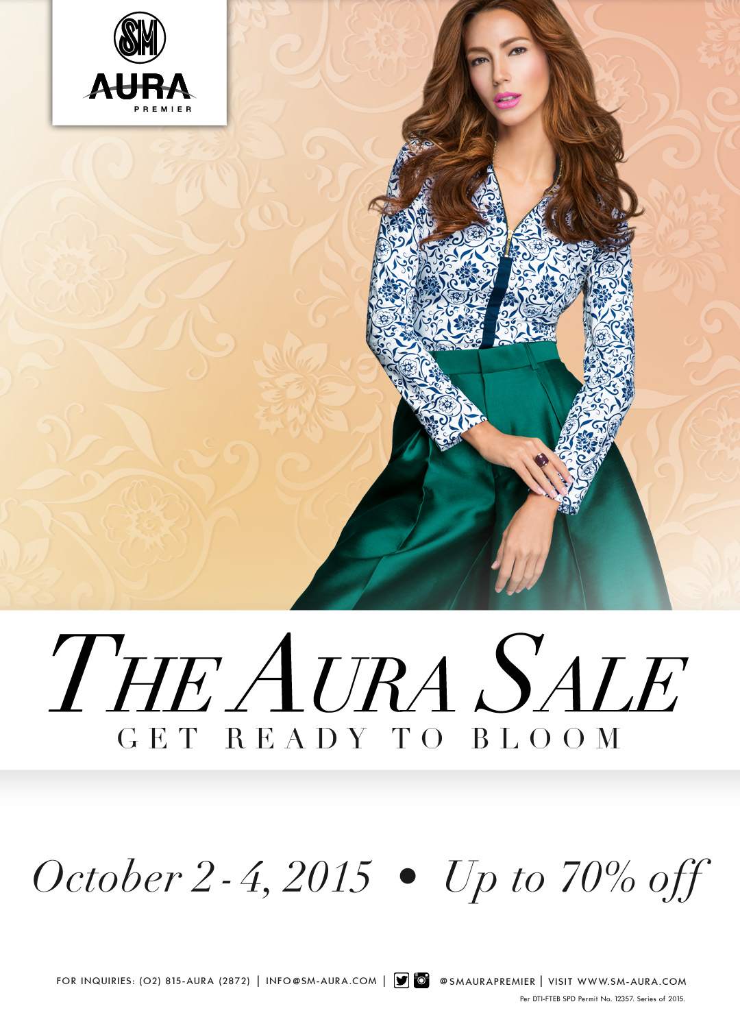 SM Aura Premier 3-Day Sale October 2015