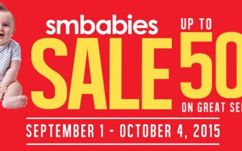 SM Babies Baby Sale September - October 2015