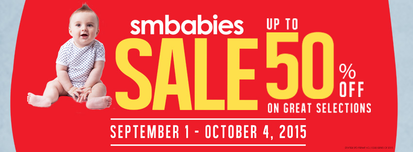 SM Babies Baby Sale September - October 2015