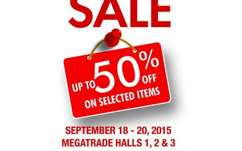 SM Home Warehouse Sale @ SM Megatrade Hall September 2015