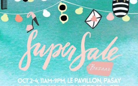 SuperSale Bazaar @ Le Pavillion October 2015