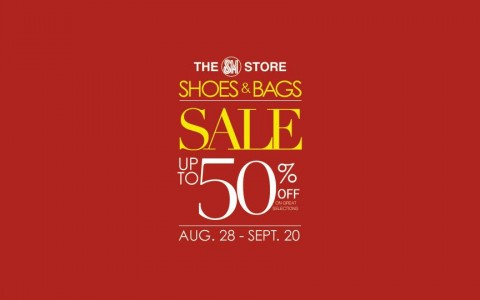 The SM Store Shoes & Bags Sale August - September 2015