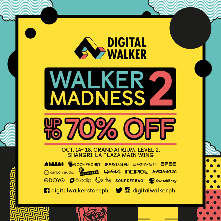Digital Walker's Walker Madness Sale @ Shangri-la Plaza Mall October 2015