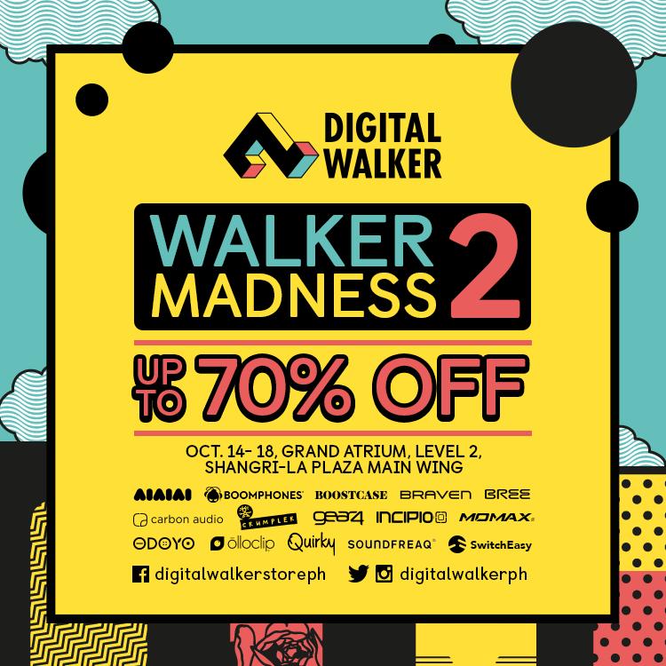 Digital Walker's Walker Madness Sale @ Shangri-la Plaza Mall October 2015