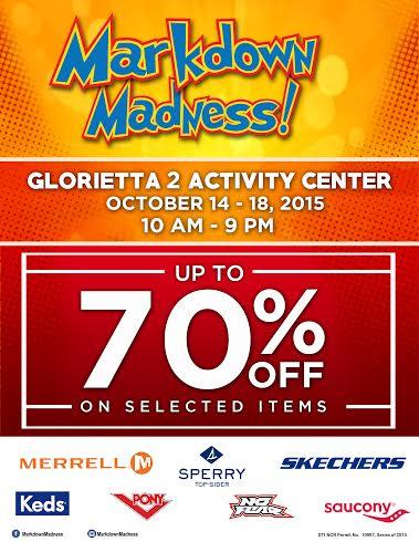 Markdown Madness @ Glorietta Activity Center October 2015