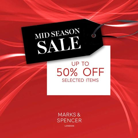 Marks & Spencer Mid-Season Sale October - November 2015