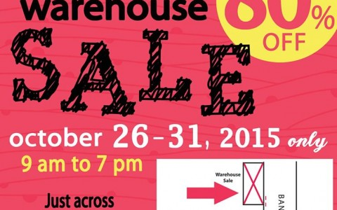 Pois Belly & Kids Warehouse Sale October 2015