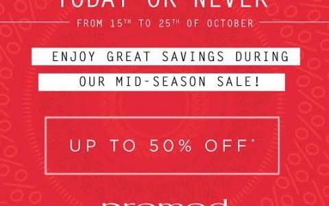 Promod Mid-Season Sale October - November 2015