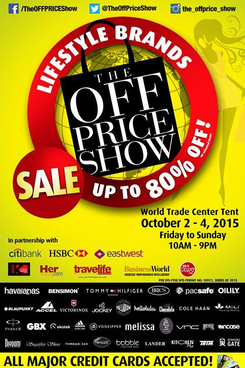 The Off Price Show @ World Trade Center Tent October 2015