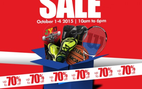 Toby's Sports Pre-Christmas Garage Sale @ Quorum Center September - October 2015